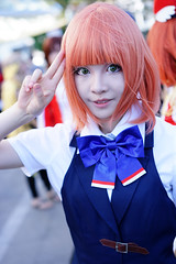 Nanami Haruka (Eric Flexyourhead) Tags: vancouver canada britishcolumbia bc downtown vancouverconventioncentre canadaplace 2016 animerevolution costume cosplay cosplayer girl woman cute kawaii かわいい kirahishicosplay nanamiharuka harukananami 七海 春歌 utanoprincesama idol idoru shallowdepthoffield sonyalphaa7 zeisssonnartfe55mmf18za zeiss 55mmf18