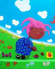 comida de terra (BENET - BNT) Tags: graffiti infantil escola spray bnt benet art arte custom work paint pintura