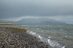Kirkjufell 08 (sarahmonious) Tags: kirkjufell snfellsnespeninsula snfellsnes mountain churchmountain fog clouds ocean ringroad route1iceland route1 iceland iceland2016 traveling