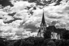 Maria Wrth (photographe_d) Tags: danielklblinger wrthersee krnten carinthia austria mono monochrome black white blackwhite sky church religion outdoor panorama