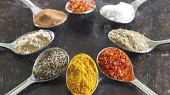 colori (Vuong Cong Minh) Tags: colors colours food spices spoons israel allspice aroma aromatic assortment background chili circular color colorful cook cooking coriander cumin curry different flavor group herb indian ingredient mix nutmeg paprika pepper position powder recipe saffron season seasoning spice spicy spoon summer various vintage wood