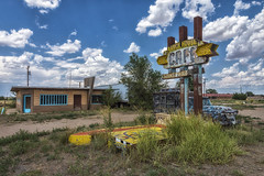 Ranch House Cafe (philippe*) Tags: texas abandoned cafe tucumcari