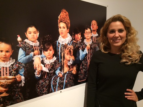 Puerto Rican Artist Lorna Otero at the Frost museum for her exhibition