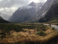 La route vers Milford Sound
