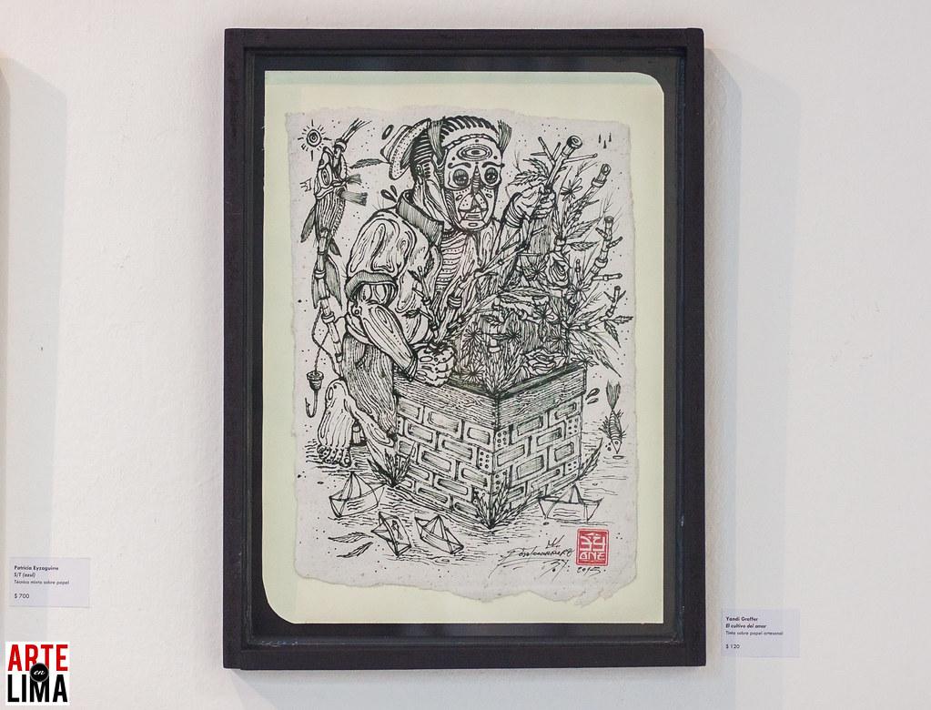 Yandi Graffer - Bazarte 9na edición - Fundación Euroidiomas