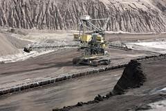 open-cast mining coal  tr_08759_result (Thomas Rossi Rassloff) Tags: deutschland energy energie mining coal brandenburg strom tagebau elektrizität braunkohle riese diese vattenfall germane welzow welzow–süd