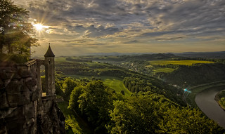 Königstein in der Abendsonne (explore)