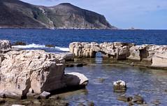 Fagignana, tufsteengroeve, de Egedische Eilanden, Itali 1998 (wally nelemans) Tags: italy italia 1998 itali fagignana tufsteengroeve tuffquary egedischeeilanden isolegadi