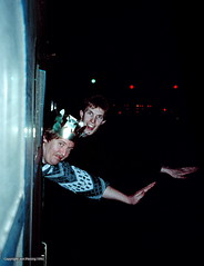 Photo of Dale and Mark at New Year 92-93