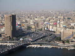 Cairo is one of The largest cities in The world with 18 million citizens!
