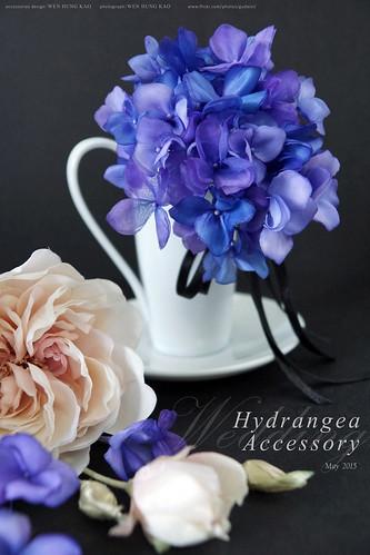訂製系列-紫陽花頭飾