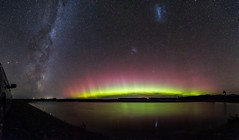 Mothers Day Aurora Australis 8/5/16 (Somerslea) Tags: longexposure autumn newzealand panorama home night stars may canterbury galaxy aurora nz southisland milkyway 2016 midcanterbury auroraaustralis mountsomers canoneos6d canonef24105mmf3556isstm mareeareveleyphotography 827tramwayroad somersleafarmlimited