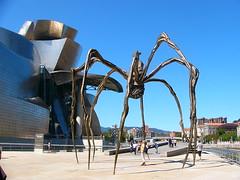 Guggenheim (Giulia Gangemi) Tags: trip sky holiday architecture landscape design spider spain europe gehry bilbao guggenheim vscocam