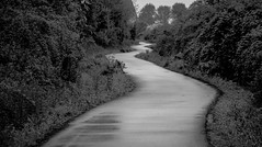 black and white winding , (sanelson951) Tags: road blackandwhite path winding