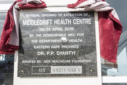 Middledrift Clinic Opening