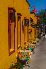 Colors @ Tucson (Marcel Tuit | www.marceltuit.nl) Tags: city arizona usa hot colors yellow america table restaurant marcel cafe warm downtown tucson unitedstatesofamerica lounge roadtrip patio adobe amerika geel stad marcha tafel roundtrip 2014 kleuren heet terrasje binnenstad rondreis marstutiblogspotcom contactmarceltuitnl wwwmarceltuitnl
