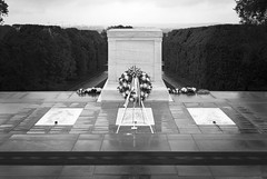 2016-05-13_7363_BW_2 (rexographer) Tags: arlington unknownsoldier sentinel policeweek theoldguard