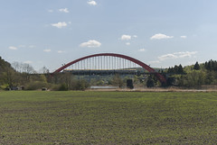 Ytterby, Nordre älvs järnvägsbro (hkkbs) Tags: bridge train sweden sigma railway sverige bro westcoast tåg västkusten kungälv järnväg ytterby nikond200 1020mmf456exdc nordreälvsjärnvägsbro