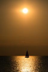 I am sailing (Eva Lauermann) Tags: sunlight colors contrast licht meer wasser sailing watersports sonne segeln stimmung farben abendsonne wassersport pentaxart pentaxk3