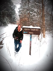 Jeremy Criswell (North Country Trail) Tags: forest training national a100 allegheney hike100nct