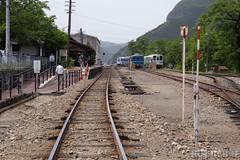 Pink SL at Wakasa Railway (5) (double-h) Tags: tottori  eos6d ef2470mmf4lisusm  wakasarailway  wakasastation
