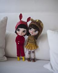 Vainilla dolly's cuties (_babycatface_) Tags: cute toy doll cutiepie blythe custom takara blythedoll dollphotography customblythe customdoll toyphotography blythecustom takaradoll vainilladolly babycatfacedollies babycatface