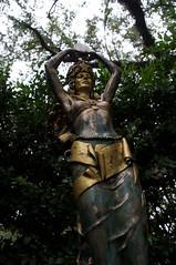 Lady in the Woods (jasonlttl) Tags: nola sculpturegarden
