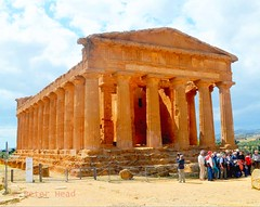 Valley of the Temples - Temple of Concordia 2-1 (Sussexshark) Tags: holiday temple concordia sicily vacanza sicilia agrigento valledeitempli valleyofthetemples 2016