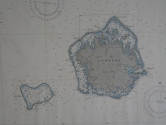 Map of Pohnpei and the nearby Ant Atoll.