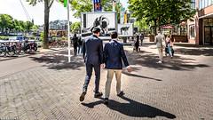 Amsterdam Stroll (Emil de Jong - Kijklens) Tags: amsterdam wikkiehermkens stopera people mensen wandelen wandeling street straat cat kat hond dog