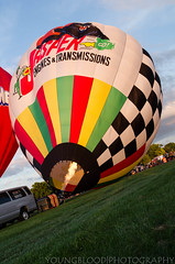 JKY_8807 (listentilithz) Tags: balloonfest middletown 2016 balloonglow hotairballoon airheadssmileyface jeep fireworks nikon d7000 1755 skydiver
