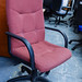 High back luxury swivel chair