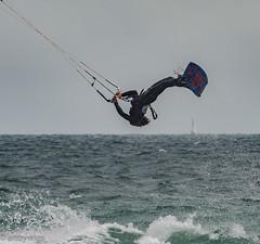kitesurf 06-6 (Artbywigs) Tags: action arial artbywigs beach extremesport kitesurfing lancing sea sport summer water wigs