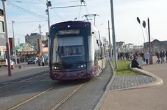 DB05158 004 2015-10-29 THUR BLACKPOOL (davruss001) Tags: tram blackpool 004