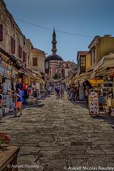 Rhodos Old Town (Askjell's Photo) Tags: hellas medieval greece oldtown rodos rhodes rhodos egeo rhodosoldtown askjell hippocratesstreet
