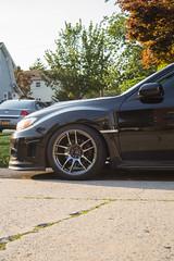 Subieast (subiegyal) Tags: subaru wrx sti hatchback jdm low coils vordoven euro cars racecar drag street