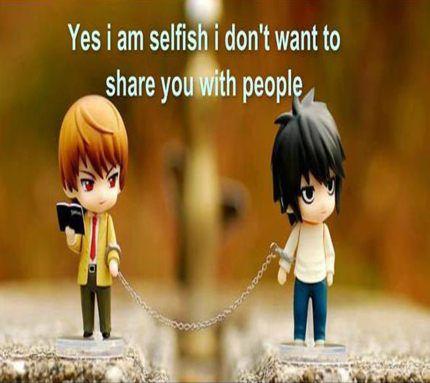 ស្នេហាគឺអាត្មានិយម (Love isselfish!)