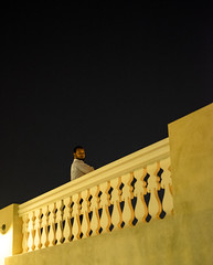 Who You Looking At? (micheltheriault) Tags: night looking doha quatar