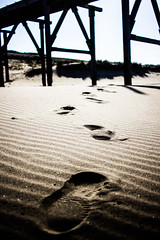 Footsteps (Any Camera Will Do!!!) Tags: beach footprints footsteps 24 impressions stm efs hartlepool michaelwilliams mwilliams michaelwilliamsphotography