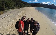 Photo de 14h - Avec Adeline et Adrien au parc Abel Tasman (Nouvelle-Zélande) - 12.05.2014