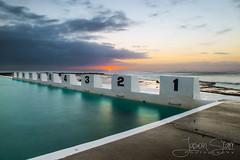 Merewether Baths - Blocks (jasoncstarr) Tags: ocean seascape beach sunrise canon newcastle landscape eos waves tamron 6d 2470mm merewetheroceanbaths canoneos6d tamronsp2470mmf28divcusd tamron2470mmf28lens