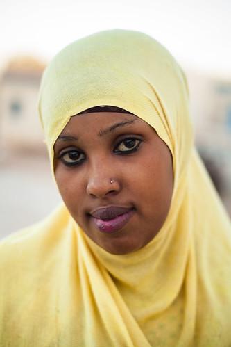 Local girl in Somaliland