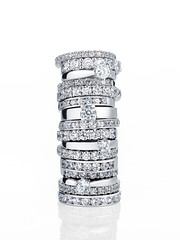 Colonne (Franois Deretz) Tags: white diamonds gold or rings francois blanc alliances diamants solitaires deretz