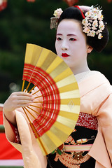 (Tamayura) Tags: japan nikon kyoto maiko kansai apr d800 2015 simga heianjingushrine 150600mmf563dgoshsmsports 201504161316241