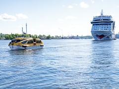 M/S AIDAmar (Franz Airiman) Tags: cruise boat ship sweden stockholm baltic cruiseship scandinavia aida archipelago northerneurope tenderboat aidacruises wwwaidade aidamar 20150528 may282015