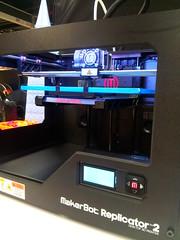 MakerBot Replicator 2 (Mycophagia) Tags: desktop 3d printer printing 3dprinter