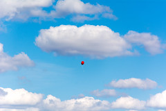 There is a sad child somewhere (Poupetta) Tags: sky helsinki skies balloon
