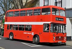 CJH141V Alder Valley 601 (martin 65) Tags: road travel friends bus public buses vintage king transport running hampshire valley dorset portsmouth vehicle alfred preserved winchester preservation alder hants 152016