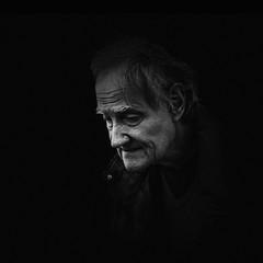 019-365-2016 (dagomir.oniwenko1) Tags: life street portrait england people blackandwhite bw male face blackbackground portraits canon person mono retrato candid sigma style oldman lincolnshire lincoln portret ritratto humans autofocus squre canoneos7d portraitworld edis08edis08 sigmadc1750