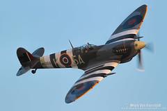 Spitfire Mk IX (mvonraesfeld) Tags: show plane fighter aircraft aviation air wwii flight fame spitfire mk warbird ix sof img6812